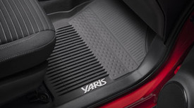 Yaris All Weather Mats Tub Style