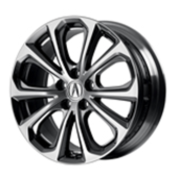 "19"" Wheel, Diamond Cut Alloy"