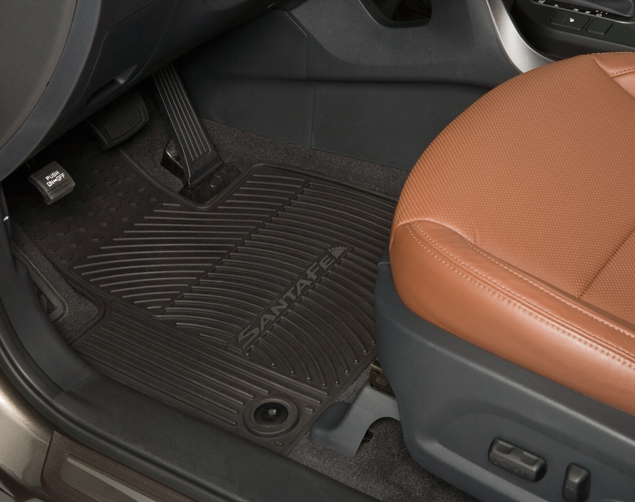 Floor Mats, All Weather, Third Row