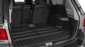 Cargo Tray, Highlander Logo, Black