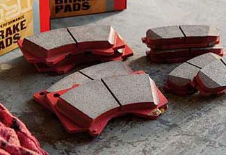 Trd, Performance Brake Pads, Rear - Toyota (PTR09-0C110)