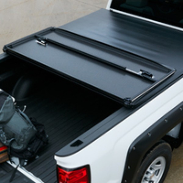Hard Tri-Folding Tonneau Cover - Black
