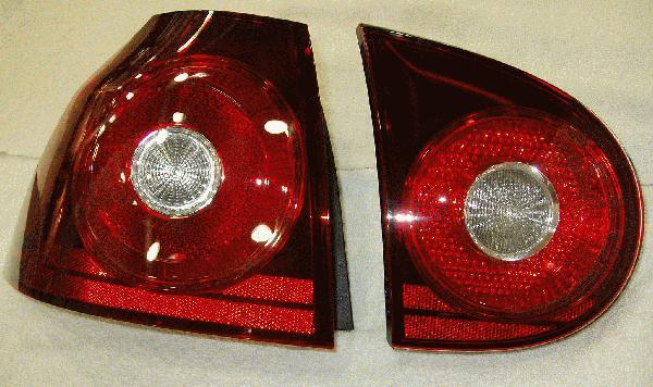 Blackened Tail Lamps, Set Of 4