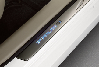 ILLUMINATED DOOR SILLS SET-PRIUS