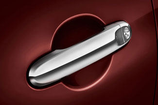 Door Handle Accents, Chrome