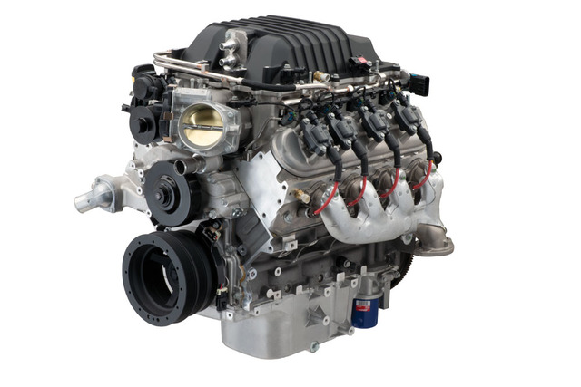 Chevrolet Performance Lsa 6.2L Sc 556 Supercharged Hp