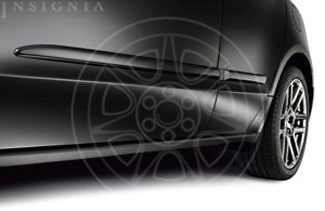 Body Side Molding - Crystal Black Pearl
