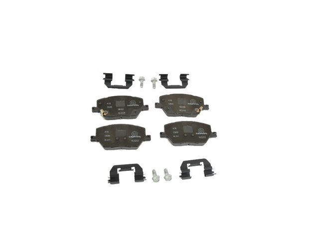 Front Disc Brake Pad Kit
