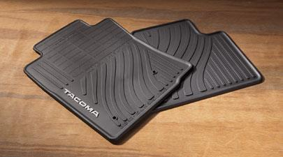 Tacoma All Weather Mats Black