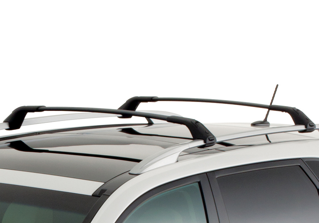 Roof Rack Cross Bars, Chrome W/Sunroof