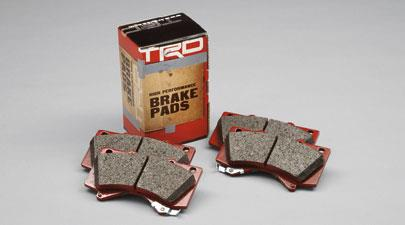 TRD Performance Brake Pads Rear - Toyota (PTR09-89110)