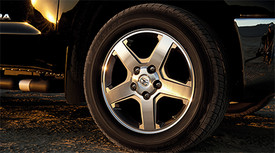 ALLOY WHEELS - 20IN MACHINED STAR 5-SPOKE