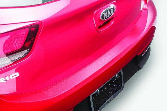 Rear Bumper Protector, Clear Applique