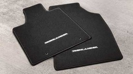 Floor Mats Highlander Black