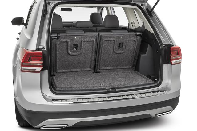 Heavy Duty Trunk Liner Extended Seat Back - Volkswagen (3CN-061-166-A-469)