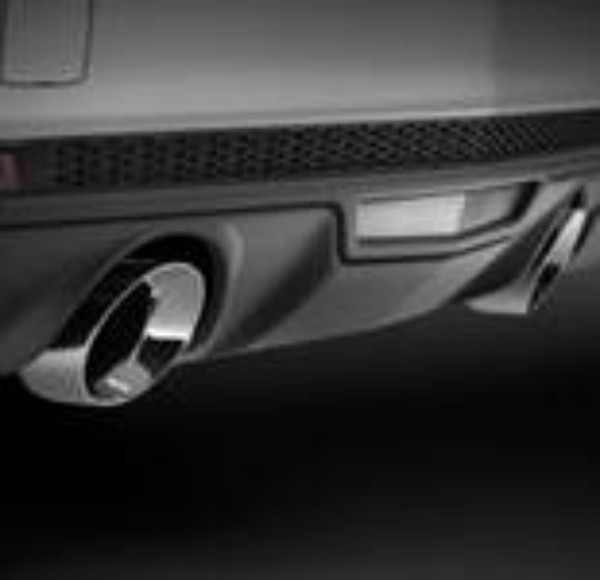 Exhaust System By Gm (W/O Ground Effects)