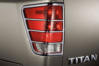 Tail Light Guards, Chrome