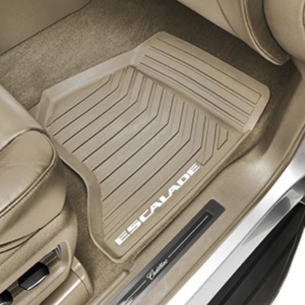 FLOOR MATS, FRONT PREMIUM ALL WEATHER DUNE