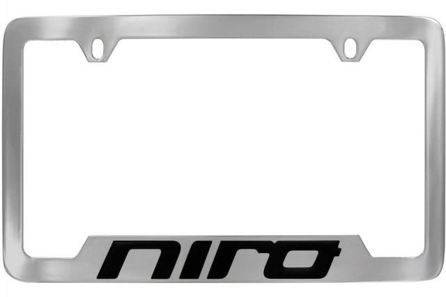 License Plate Frame, Lower Logo - Kia (UR016-AY002DE)