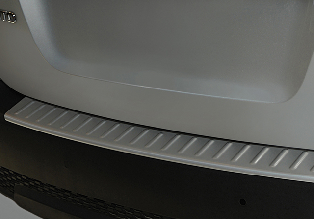 Rear Bumper Protector, Stainless (Sx)