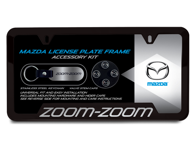 License Plate Frame Gift Set, Zoom-Zoom