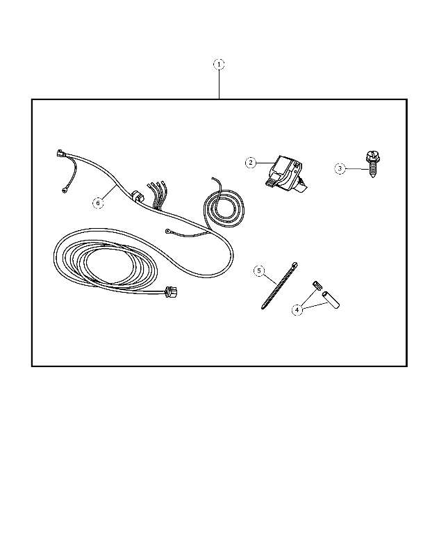wiring kit -trailer tow-7-way - harness