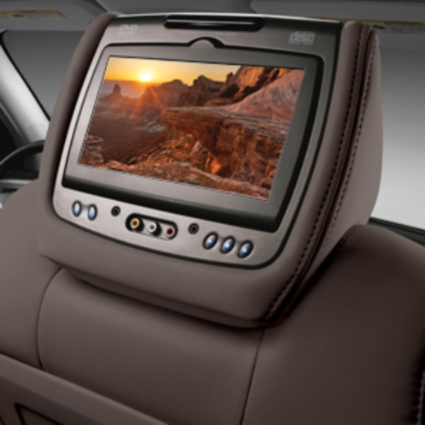 DVD Headrest System, Dual