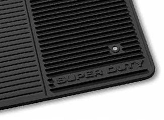 Floor Mats, All Weather, Front Set - Ford (6C3Z-2513086-C)