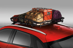Roof Carrier, Canyon Basket W/Net By Thule