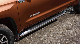 Running Board, Tubular, Chrome