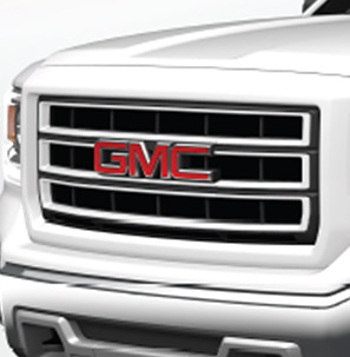Exterior Trim, Chrome Grille Kit