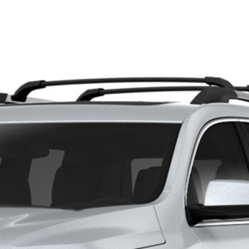 Removable Roof Rack Cross Rails - Black