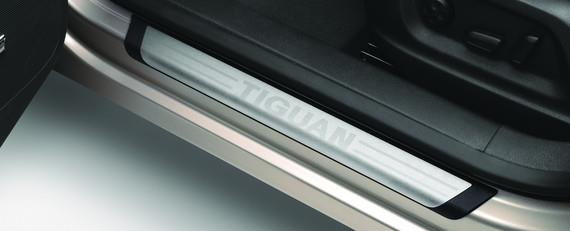 Door Sill Protection Trim With Tiguan Logo - Volkswagen (5N0-071-303)