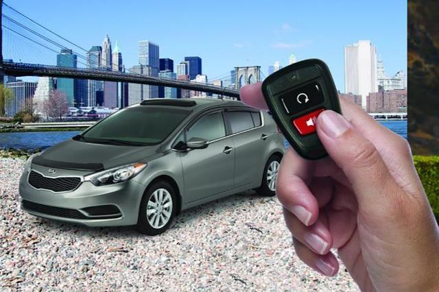 Remote Start, Push Button Start Model