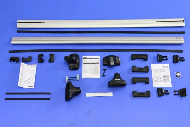 Thule Removable Roof Rack Cross Rails - Mopar (TR486056)