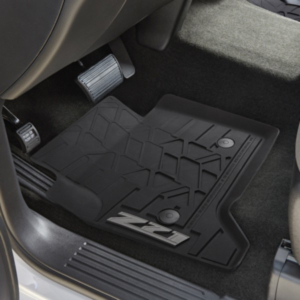 Floor Mats, All-Weather, Front, Z71
