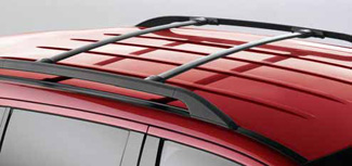 Ford Edge | MKX | Roof Cross Bars | Set of two | Black |