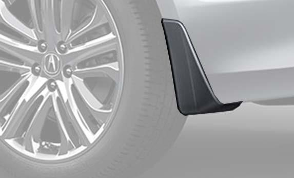 Splash Guards, Rear L4, Lunar Silver Metallic