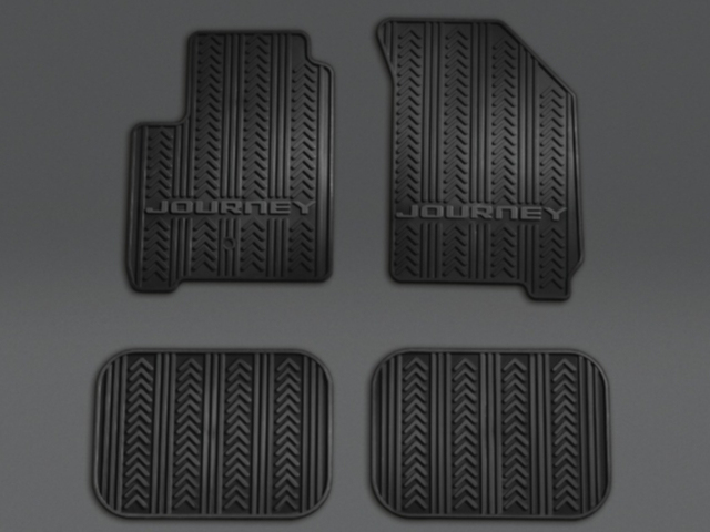 All Weather Floor Mats - Black - Mopar (82213476)