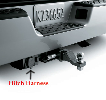 harness trailer hitch honda 08l91 sjc 102 hondaparts rh hondapartsonline net