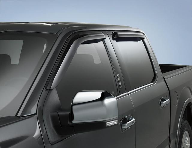 Side Window Deflectors - Super Cab