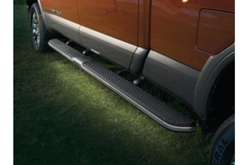 Running Boards, Lighting Kit, Dark Chrome