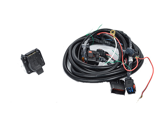 Trailer Tow Wire Harness Kit- With 7-Way - Mopar (82211640AB)