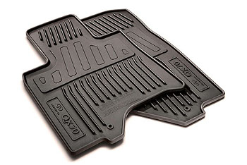 Floor Mats, All Weather, Black