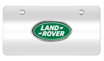 License Plate, Land Rover Logo - Land-Rover (LR007528-FP)
