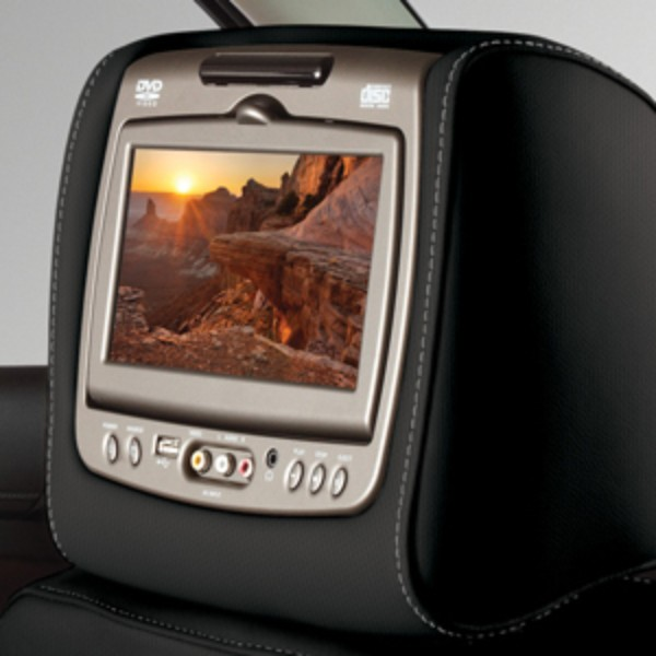 DVD Headrest System, Cloth
