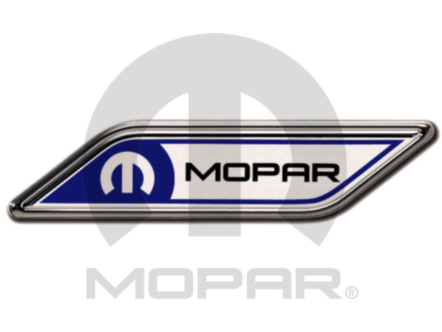 Emblems, Fender Badge, Mopar Logo - Mopar (82213379)