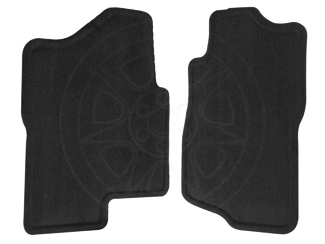 Floor Mats, Carpet, Front - GM (19121921)