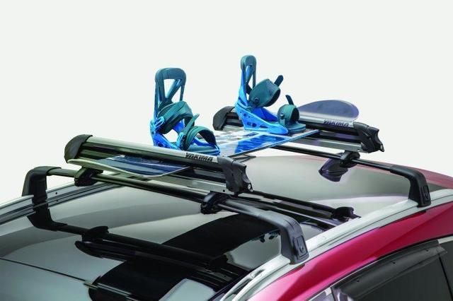 Roof Rack Cross Bars, Black W/O Sunroof