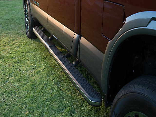 Assist Step Running Boards, Left-Hand, W/Light